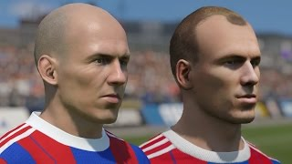 FIFA 15 Vs PES 15 Head To Head Faces Bayern Munich