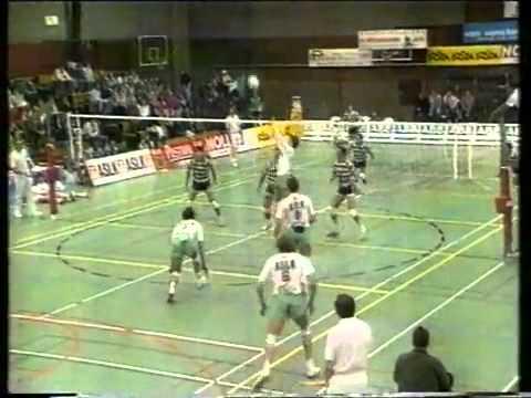Voleibol :: Noliko x Sporting 1990/1991