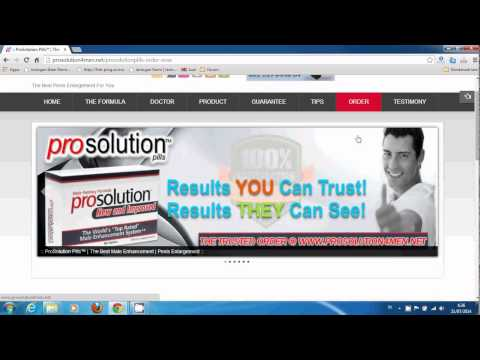 ProSolution Pills | The Best Male Enhancement | Penis Enlargement