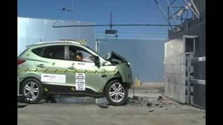 Crash Test 2006 - 2009 Hyundai Tucson / Kia Sportage IIHS videos