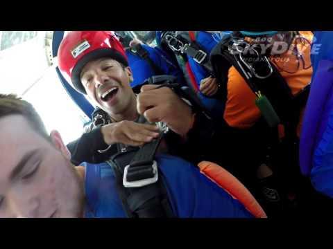 Brenton Cook's Tandem skydive!