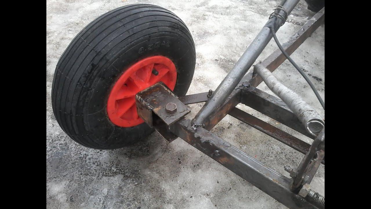 Как сделать поворотное колесо своими руками