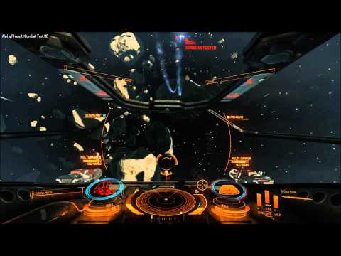 Elite: Dangerous alpha 1.1 - synchronising multi-cannons on dual triggers