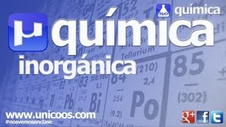 Química inorgánica. Parte 2