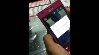 Screenshot LG Optimus L5