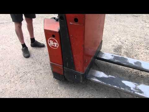 Transpalette électrique BT PPT 1400MX/MXC Electric Lightweight Pallet Truck