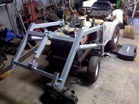Craftsman Tractor Loader Update April 2012