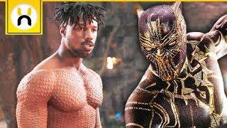 Killmonger's Wakandan Origins & Scars Explained   Black Panther