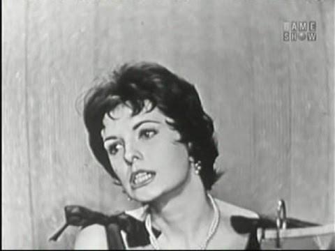 What's My Line? - Margaret O' Brian; Peter Ustinov [panel] (Nov 24, 1957)