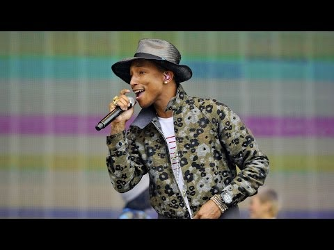 Pharrell Williams 'Happy' - BBC Radio 1's Big Weekend 2014