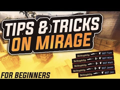 CS:GO COMPETITIVE TIPS & TRICKS | MIRAGE