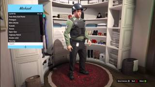 GTA 5: Outfit Clothing, Police, Spec Ops, Scuba Diving