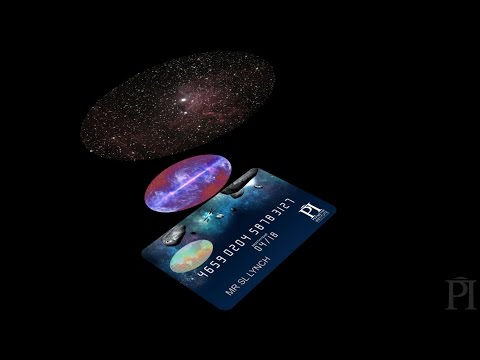 The universe from a hologram?