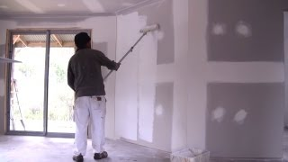 How To Prime A Wall How To Apply Primer Sealer To New