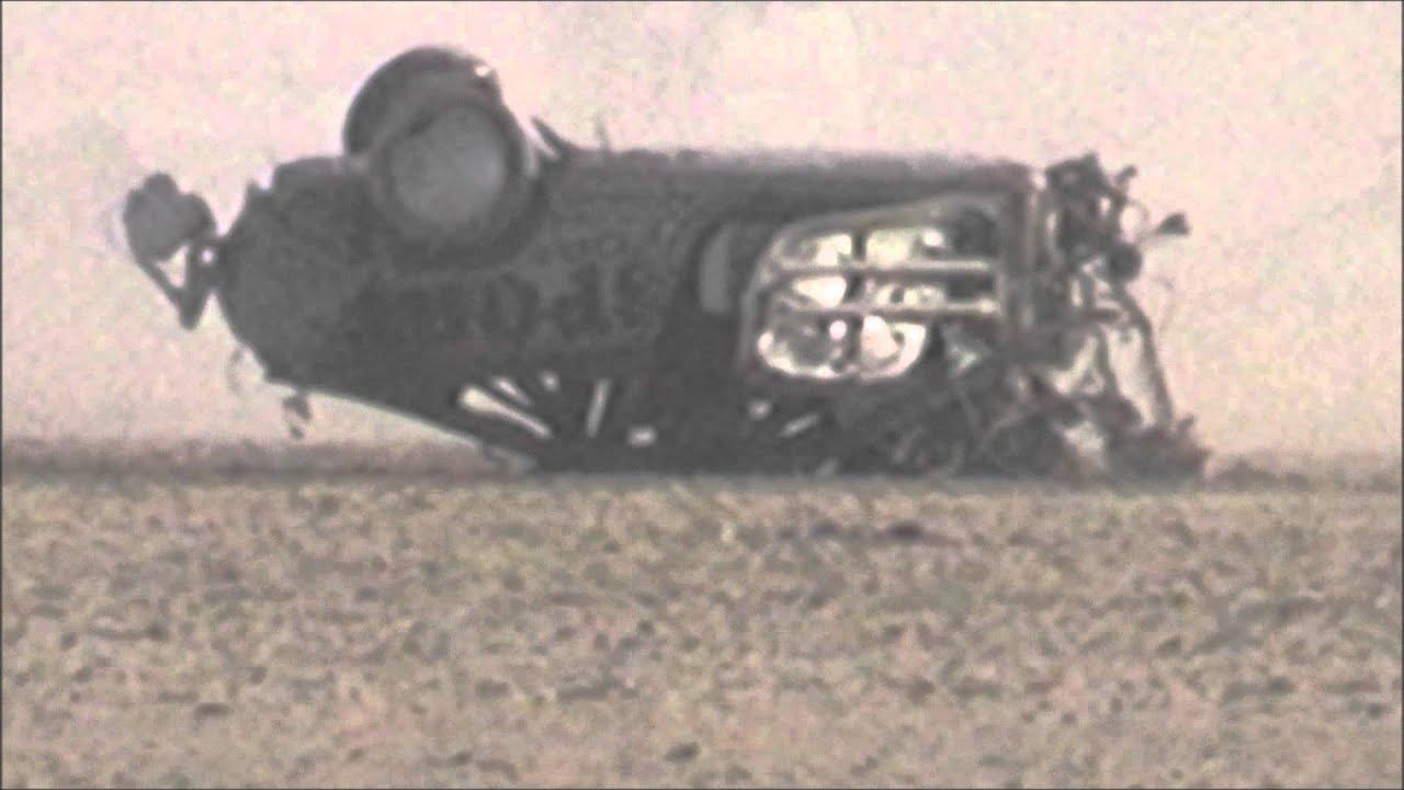 Une voiture se crashe à plus de 300km/h