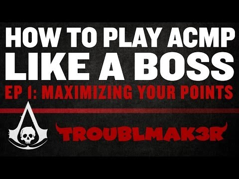 Play Assassin's Creed Multiplayer Like A BOSS: Ep 1 (Maximizing Your Points)