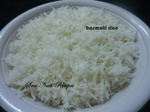 Sree Nath - How to cook  Basmati rice - Basic recipe for beginners.