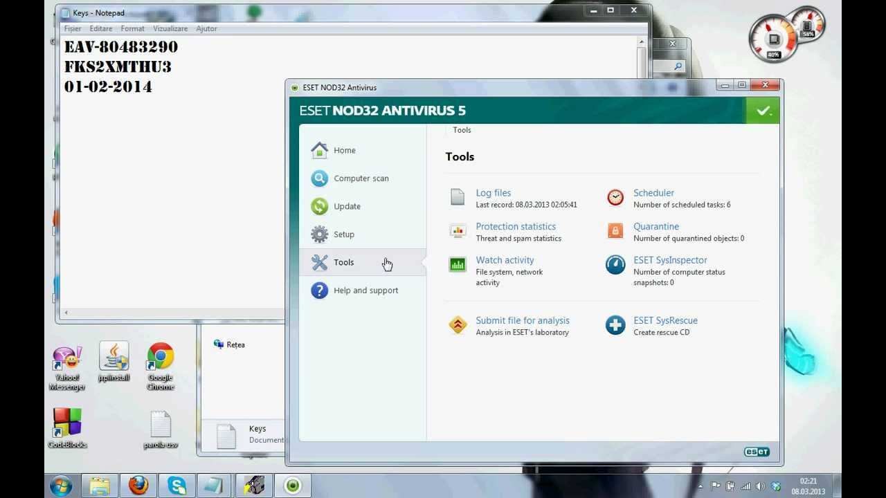 ESET NOD32 Antivirus 5 2. 9. 1 Incl Fix Full Version Free Download. . .