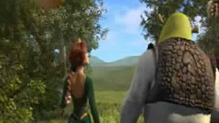 Shrek Push Fiona Into Bush