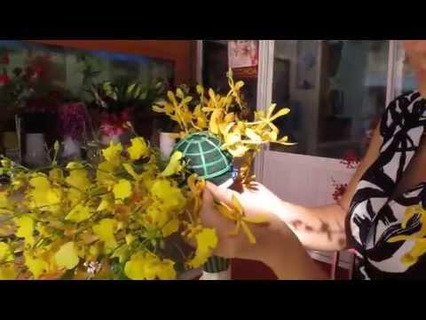 Hướng dẫn thiết kế hoa cưới cầm tay