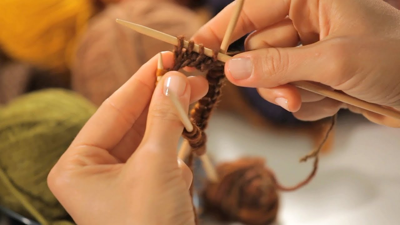 Knitting Joining In The Round Circular Needles : How to join the round on pointed needles circular