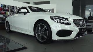 2017 Mercedes-Benz C180 Coupe Sport. Обзор (интерьер, экстерьер, двигатель).. MegaRetr