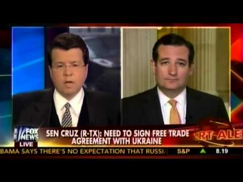 Sen. Ted Cruz with Neil Cavuto