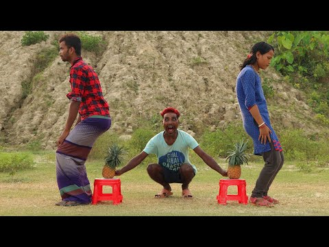 Must Watch New Funny Video🤣🤣Top New Comedy Video 2019 | Try To Not Laugh | #myfamily
