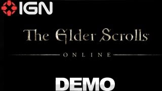 The Elder Scrolls Online E3 2012 Demo IGN Live