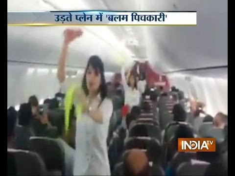 Watch SpiceJet cabin crew spicing up Holi with dance inside aircraft aisle