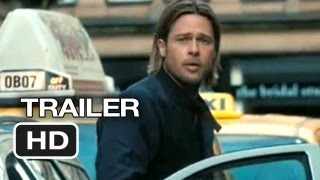 World War Z Official Trailer #1 (2013) Brad Pitt Movie HD