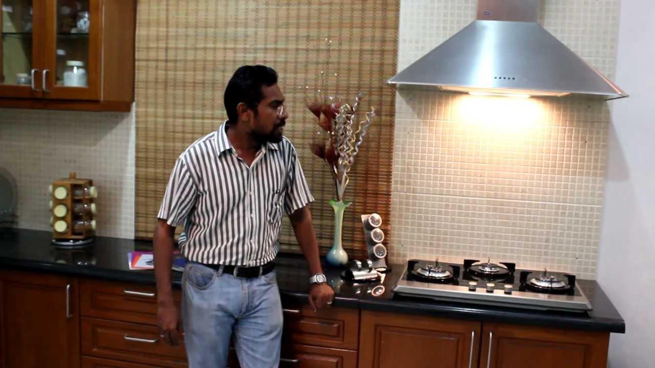 Modular Kitchen Indian Context Chimney Hob Amp Sink