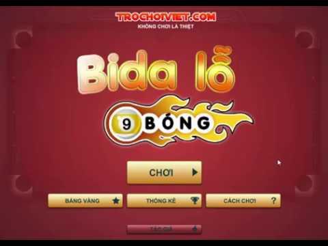 Game Bida 9 bi - Video game Bida 9 bi cực kỳ điệu nghệ