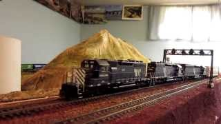 "Montana Rail Link's ""Laurel, Missoula Train"" Freight Train"