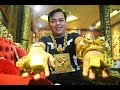 'Đại gia' đeo 13 kg vàng cổ vũ tuyển Việt Nam: Kẻ Xấu không thể giật được đâu!'