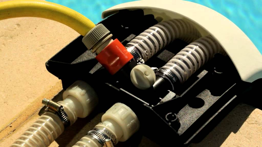 Zodiac easy connect pool heat pump plumbing solution youtube for Easy connect zodiac