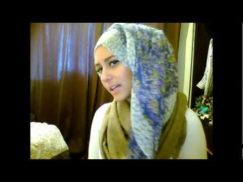 cute summer hijab tutorial and measly outfit of the day!