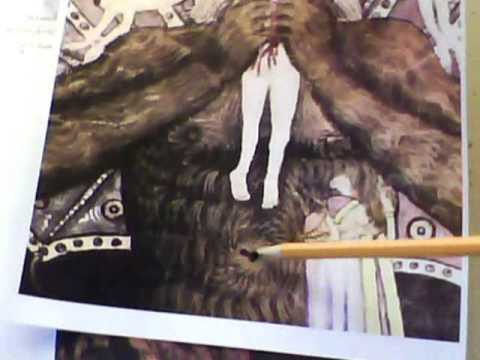 Ancient Devil Devouring Man Paintings Describes Gene Altering By Clergy & Royalty