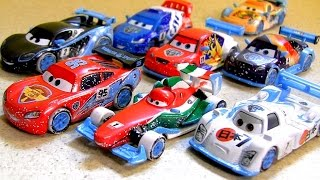 Cars2 Ice Racers NEW Diecasts With Moscow Race 4-Pack