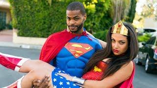 Dating Wonder Woman (ep.1)   Inanna Sarkis, King Bach & Klarity