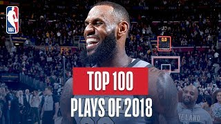 NBA's Top 100 Plays of 2018