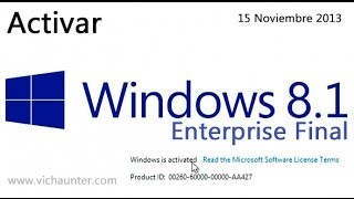 Activar Windows 8.1 Enterprise [FUNCIONA][09Febrero2014
