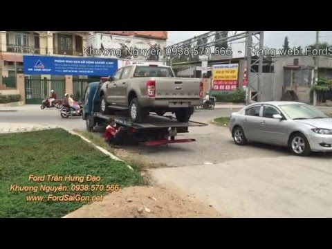 Giao xe Ford tận nơi ngay khi khách hàng yêu cầu tại đại lý Ford Trần Hưng Đạo