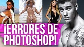ERRORES de Photoshop de Las Famosas (Moda Sin Filtro)