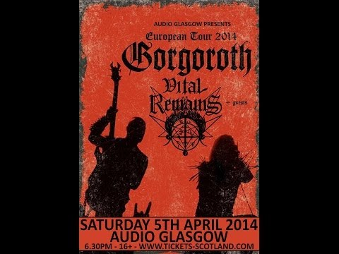 Vital Remains (US) - Live at the Audio, Glasgow April 5, 2014 FULL SHOW