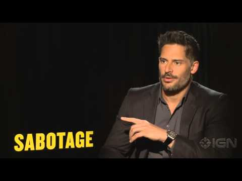 Sabotage - Joe Manganiello, Josh Holloway & David Ayer Interview