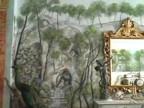 Fresco fresken raumgestaltung for Raumgestaltung youtube