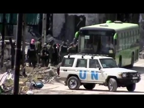 Syrian rebels begin evacuation of Homs
