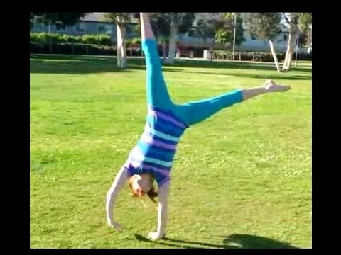 Learn How To Do Cartwheels And Aerials In A Row With Coach Meggin!