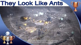Call Of Duty Ghosts They Look Like Ants Trophy